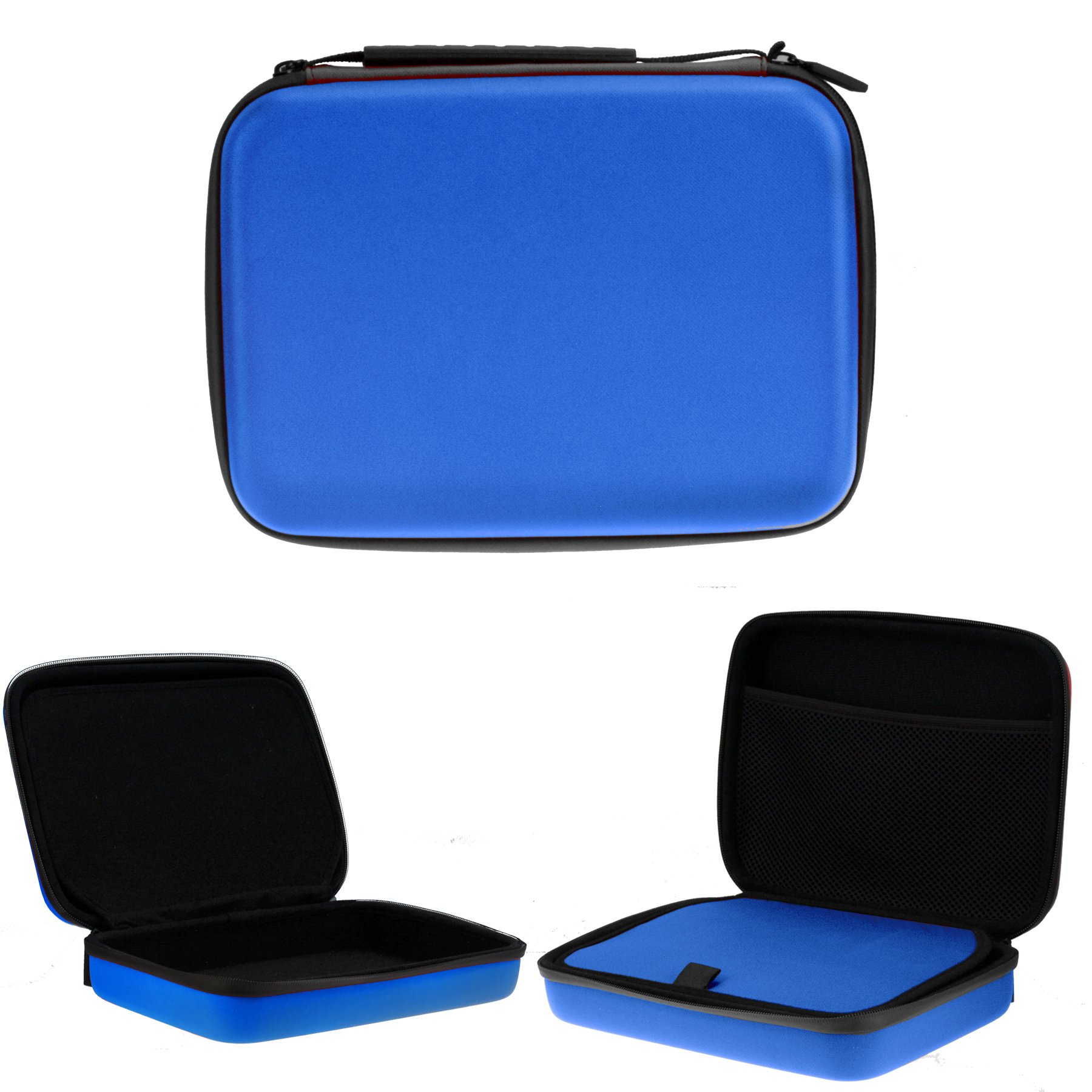 Navitech Blue Heavy Duty Rugged Hard Case/Cover Compatible With The HP ProDesk 400 G3 Mini Desktop PC