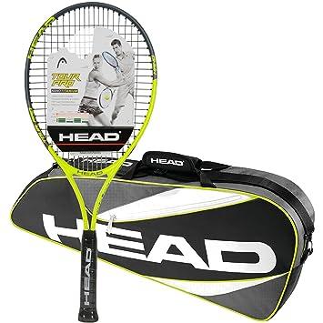 Head Tour Pro pre-strung raqueta de tenis con un paquete de ...