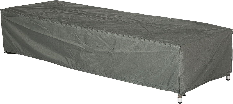 STAR protettiva Cover per Mobili da giardino reclinabile Tinta Unita Grigio 200x 75x 40cm 454803, 0,9ml Stern GmbH