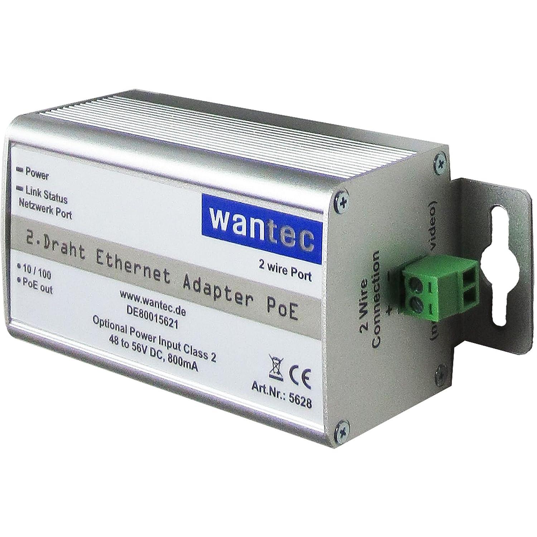 Wantec Netzwerkadapter 2wIP 2 Draht 10: Amazon.de: Computer & Zubehör