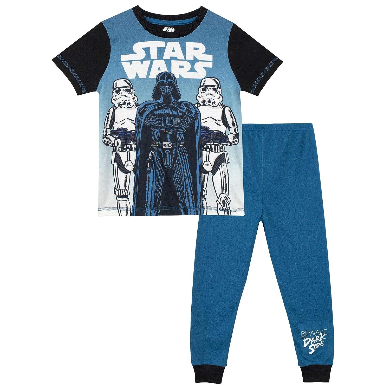 Star Wars Pijamas para Ni/ños 2 Paquetes La Guerra de Las Galaxias