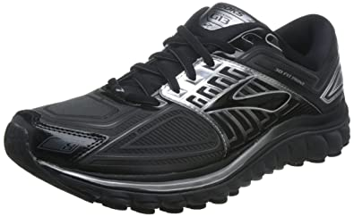 Men's Brooks Glycerin 13 Running Shoe Black/Anthracite Size 8 ...