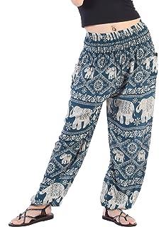 92d811b2524 CandyHusky Womens Aladin Genie Loose Hippie Baggy Boho Yoga Harem Pants One  Size