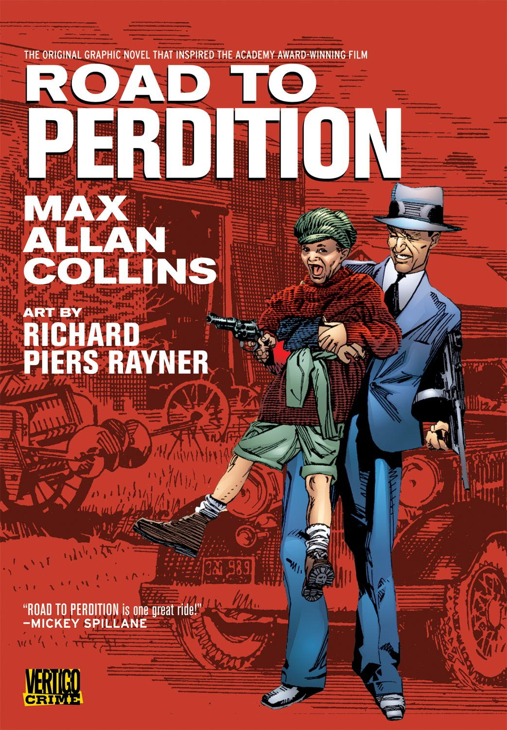 Afbeeldingsresultaat voor road to perdition novel
