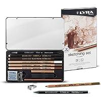 Lyra Rembrandt Metal Kutu Sketching Set Box Boya Kalemi, 11'Li
