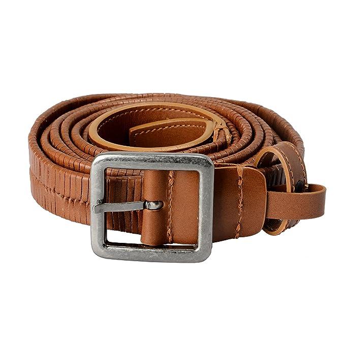 b932345e Versace 100% Leather Brown Men's Double Wrap Belt US 42 IT 105 ...