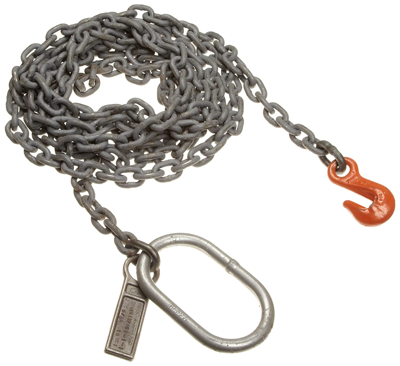 Fixed-Leg Mazzella SOG Welded Alloy Chain Sling 22600 lbs