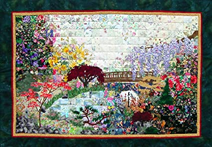 Superieur Whims Watercolor Quilt Kits Japanese Garden Quilting Supplies