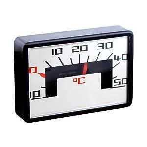 Lantelme 2305 Analogique thermomètre bimétallique pour automobile auriol u adhésif aimanté