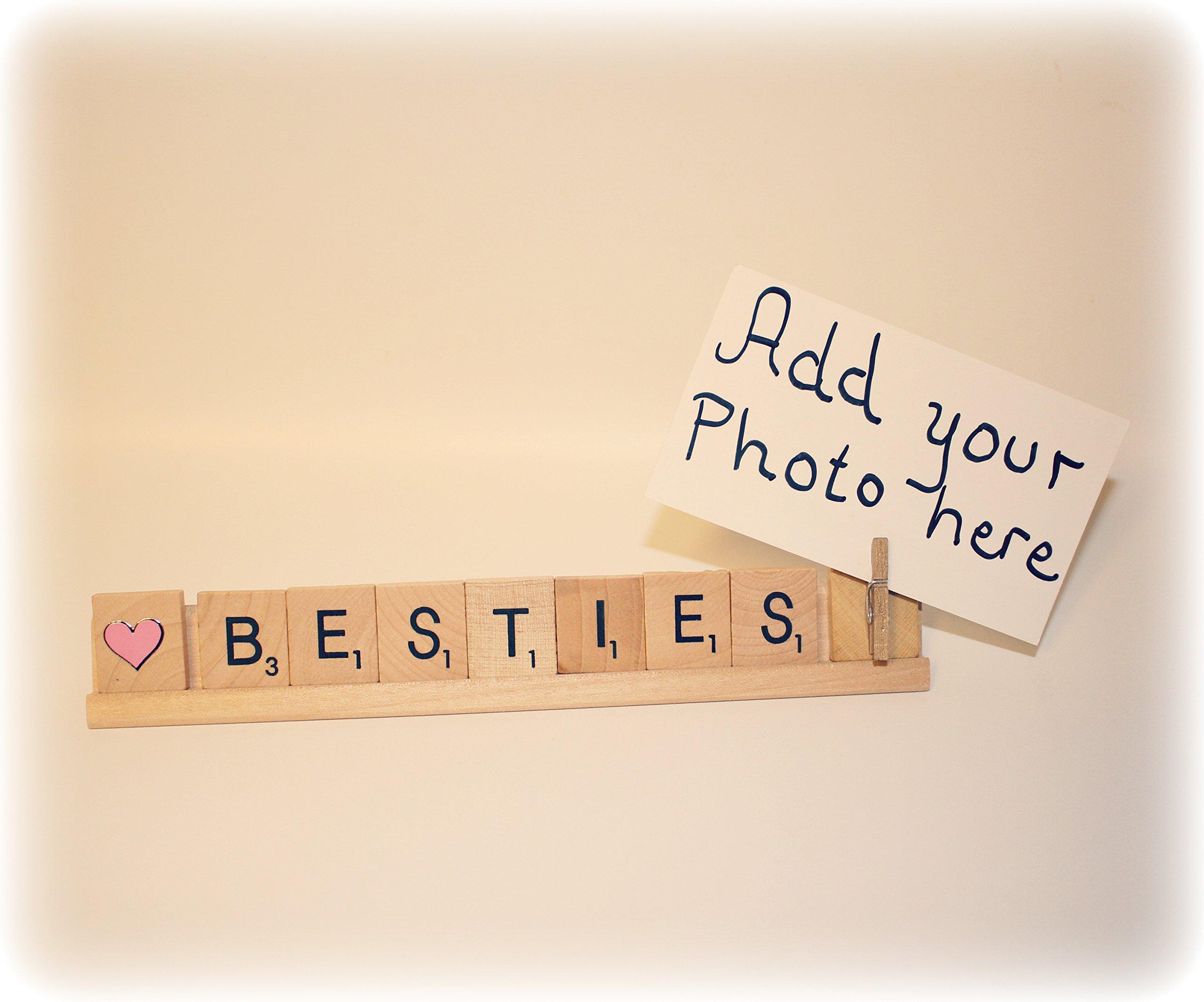 Bestie Photo Holder, Bestie Photo Frame, Bestie Frame, Bestie Gift, Best Friend Gift, Best Friend Frame, Best Friend Photo Holder
