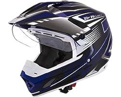 Pro Tork Capacete Th1 Vision Adventure 58 Azul/Branco