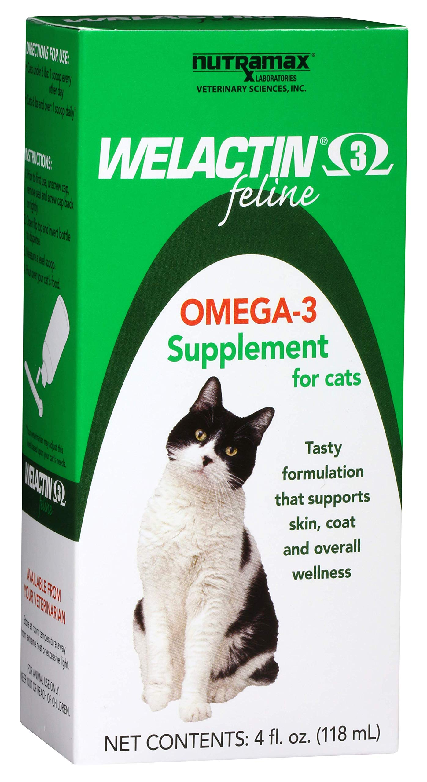 Welactin Feline Liquid, 4-Ounce 1