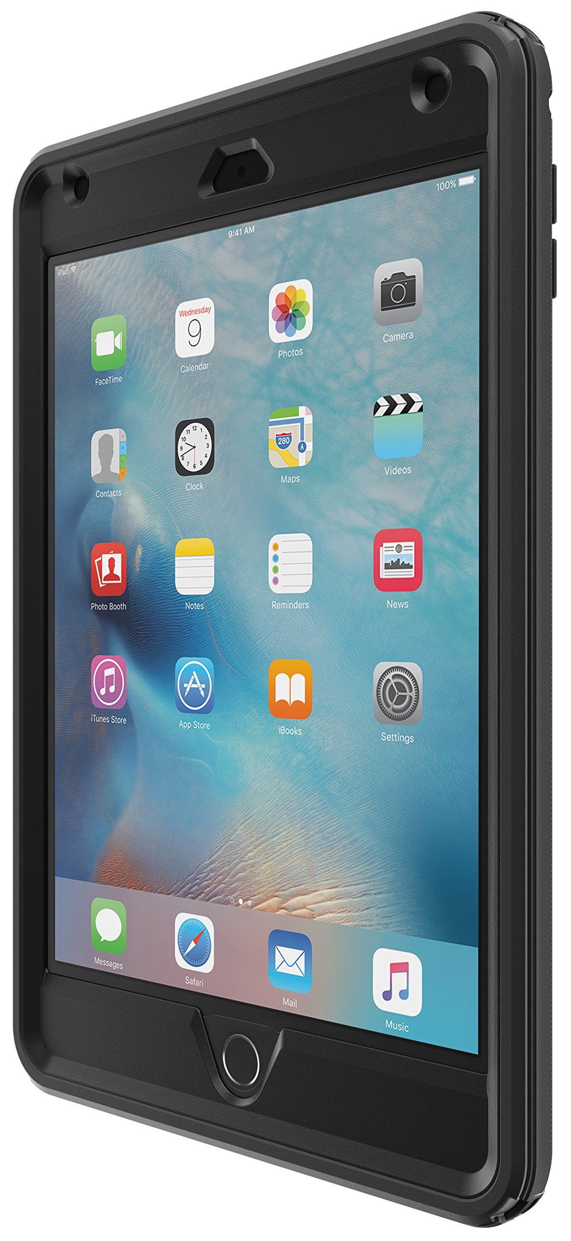 OtterBox DEFENDER SERIES Case for iPad Mini 4 (ONLY) - Retail Packaging - BLACK by OtterBox (Image #4)