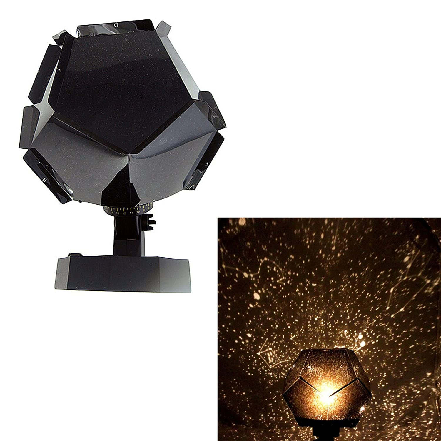 Led night light romantic star projector lamp planetarium star light bedside lights amazon com