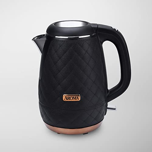 Aroma Professional AWK-3000B Surgical Grade 316 Stainless Steel Electric Water Kettle 1.2L Black