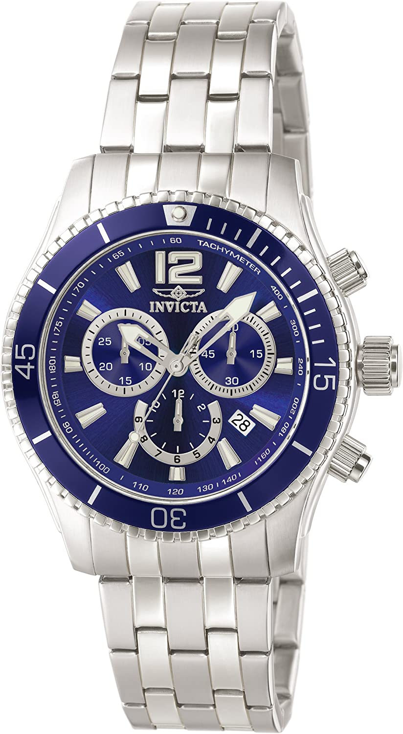 Invicta Men s Specialty Collection Chronograph Stainless Steel Watch 0620