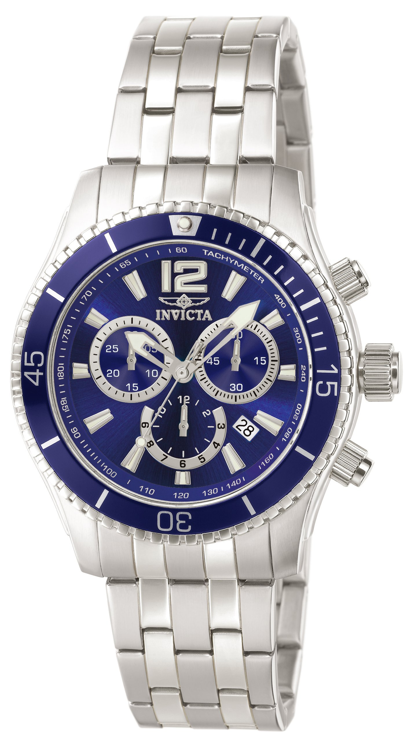 Invicta Men's Specialty Collection Chronograph Stainless Steel Watch (0620) by Invicta