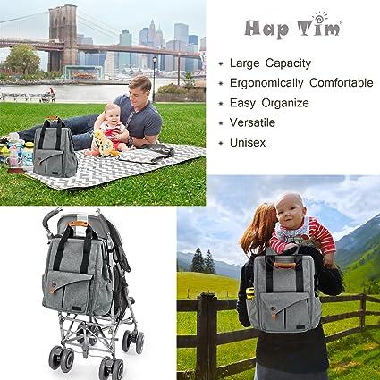 HapTim Multi-function Baby Diaper Bag Backpack
