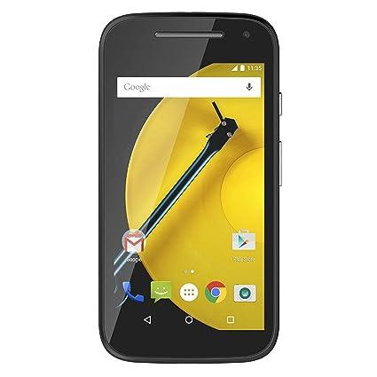 motorola. motorola moto e (2nd generation) locked cellphone, black