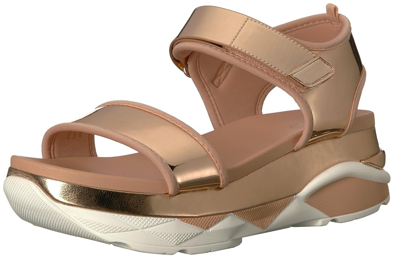 ALDO Women's Zarella. Sport Sandal B0791X3K52 6.5 B(M) US|Metallic Miscellaneous