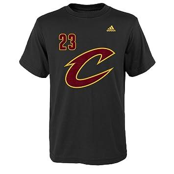 NBA juventud niños Lebron James nombre & número camiseta de manga corta - R 8PAGDA CC