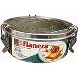 Amazon.com: Flanera Flan Mold Stainless Steel. 1.0 quart ...