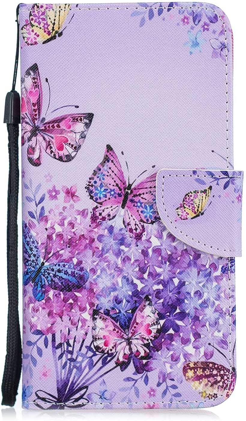 Huawei Mate 20 Pro Case #1 Cat Bear Village/® Color Pattern Flip Leather Case Shockproof Silicone Back Cover with Card Slot and Stand Function for Huawei Mate 20 Pro