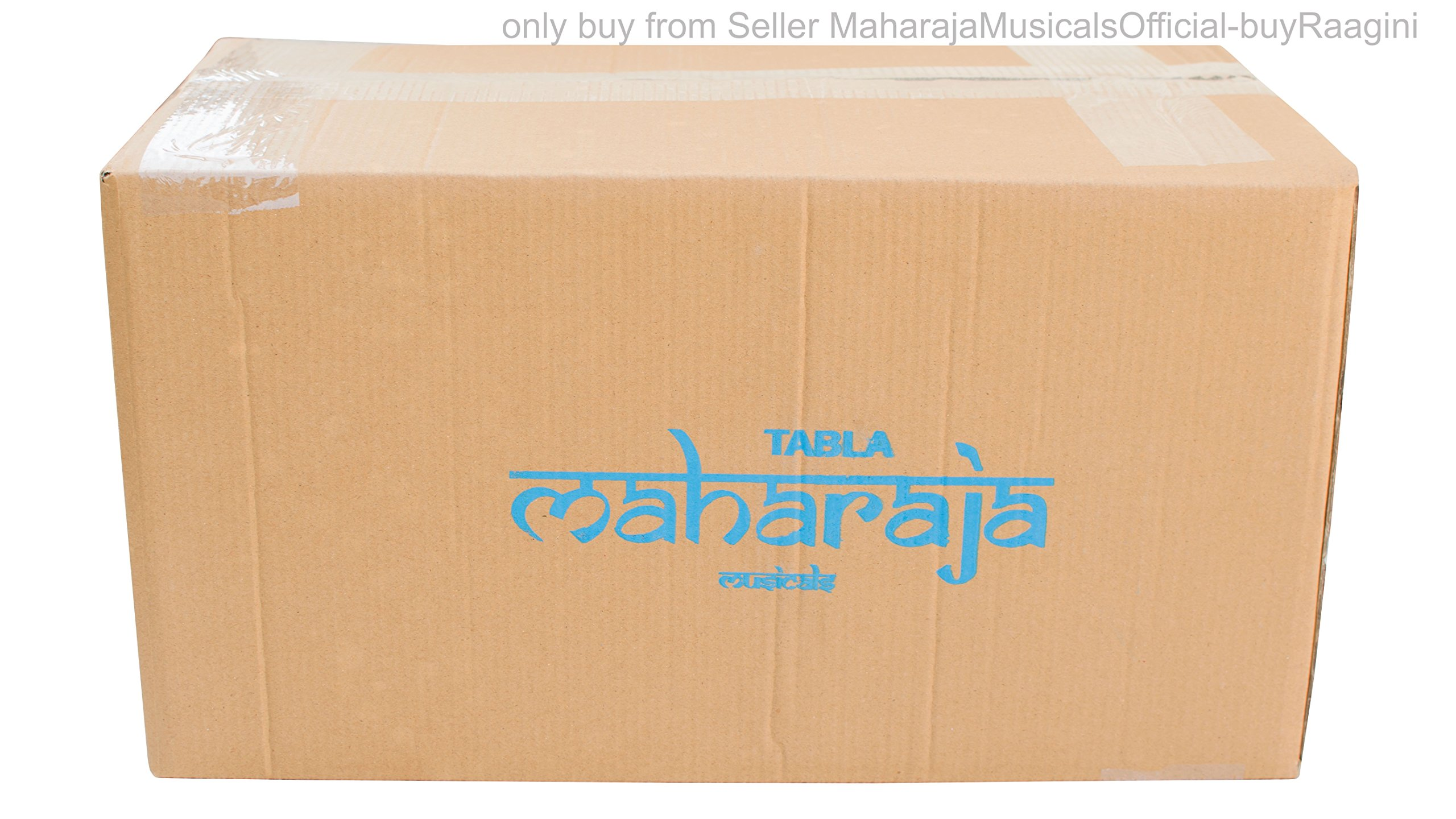 MAHARAJA Student Tabla Drum Set, Basic Tabla Set, Steel Bayan, Dayan with Book, Hammer, Cushions & Cover - Perfect Tablas for Students and Beginners on Budget (PDI-IB) Tabla Drums, Indian Hand Drums by Maharaja Musicals (Image #9)