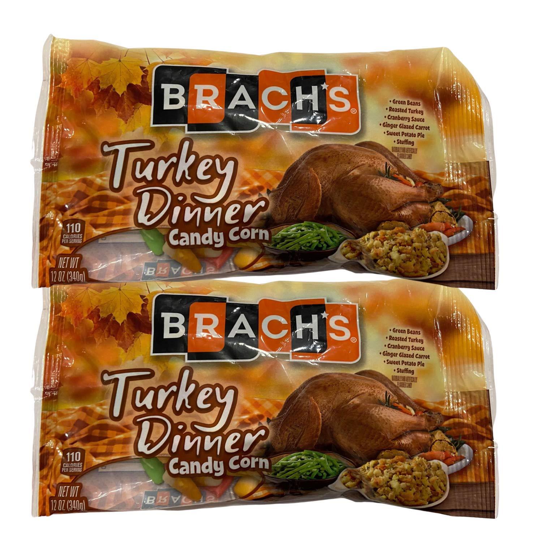 Turkey Dinner Candy Corn (2 packs) 12 ounce