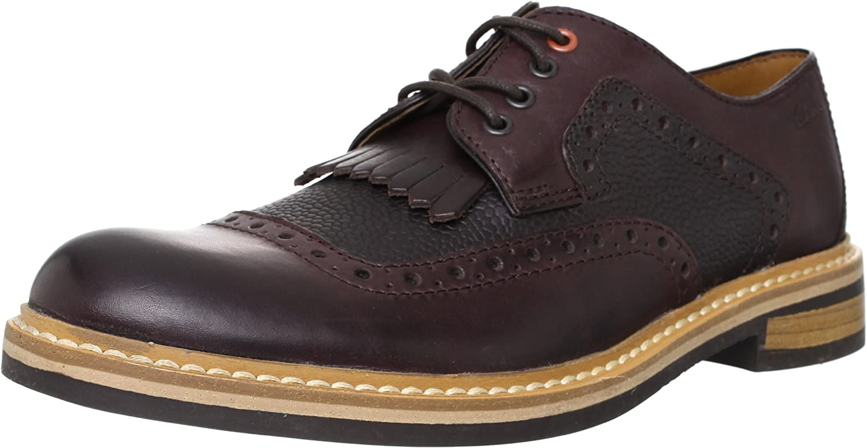 Clarks Darby Desert, Zapatos de Cordones Oxford para Hombre