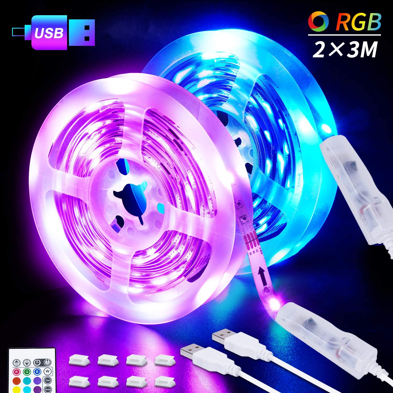 USB Led-streifen RGB SMD5050 TV PC Hintergrund Beleuchtung Kit