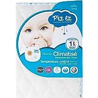 P'tit lit Summer/Winter Climate Baby Cot Mattress 130x70x12 cm