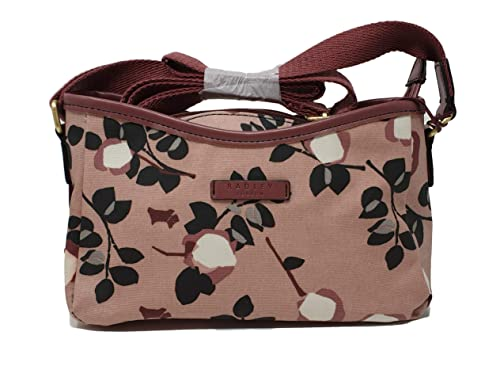 635c191ca2bce Radley 'Corams Field' cross body/Shoulder bag in pink oilcloth: Amazon.co.uk:  Shoes & Bags