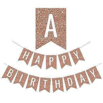 Amazon.com: FECEDY - Banderines para fiesta de cumpleaños ...