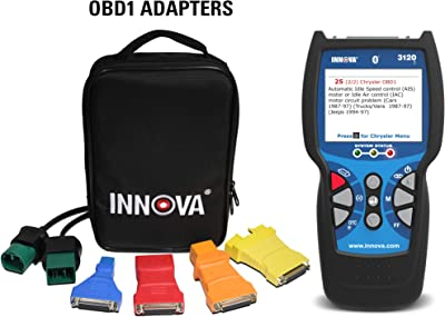 INNOVA 3120f Bluetooth Diagnostic Scanner – ABS Scan Tool, Battery Reset and Oil Reset for OBD1, OBD2, JOBD, and EOBD Vehicles