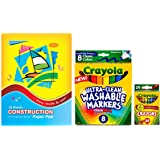 Crayola Broad Point Washable Markers 8 Ct...