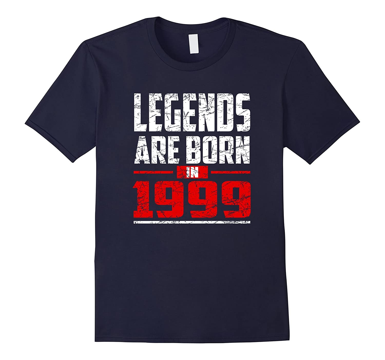 18th Birthday Gifts Boy Girls Legends Are Born in 1999 Shirt-Vaci