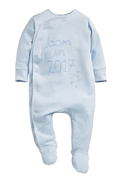 next Bebé Niño Pijama Born In 2017 (0-9 Meses) Azul 6-