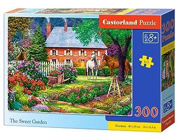 Castorland The Sweet Garden 300 pcs Puzzle - Rompecabezas (Puzzle ...