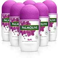 Palmolive Deodorant Roll-On Sexpack, Naturals Luxurious Softness Anti-Perspirant Utan Alkohol, 50 ml i 6-pack