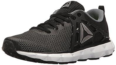 Reebok Women s Hexaffect Run 5.0 MTM Black Asteroid Dust Pewter White  Athletic Shoe 7bef916a1