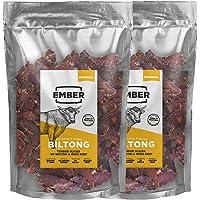 Ember Biltong 1KG Großbeutel - Beef Jerky Original - Proteinreicher Snack - Original (2x500g)