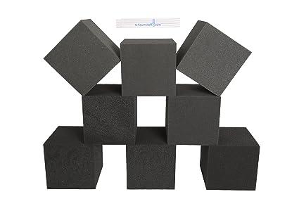 8 pcs de espuma dados de 20 x 20 cm juego de bloques de construcción,
