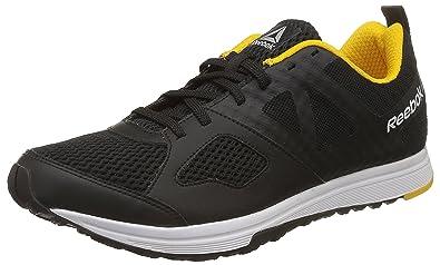 5d4c59de915 Reebok Men s Dash Tr Black Yellow Metsil Wht Multisport Training Shoes - 10