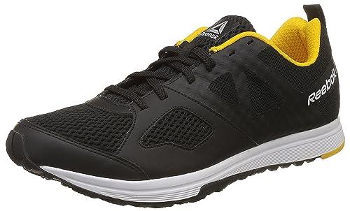 a3bccf081a5d Reebok Men s Dash Tr Black Yellow Metsil Wht Multisport Training Shoes - 10