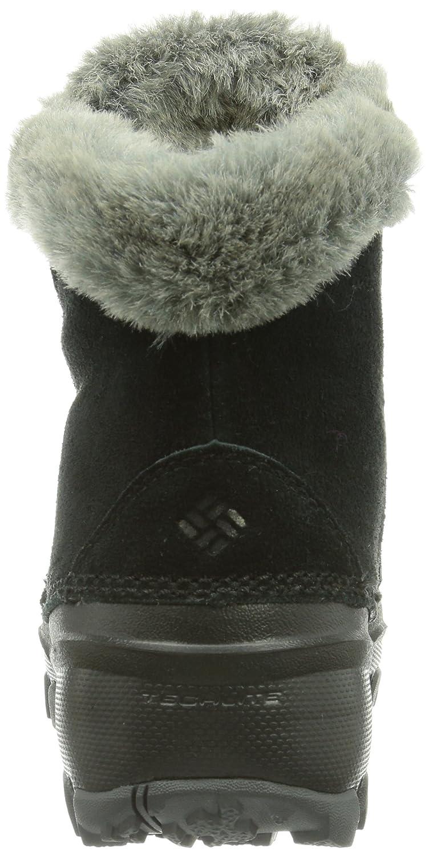 Columbia Women's Sierra Summette Shorty Winter Boot B00GW95YO0 9.5 B(M) US|Black, Red Plum