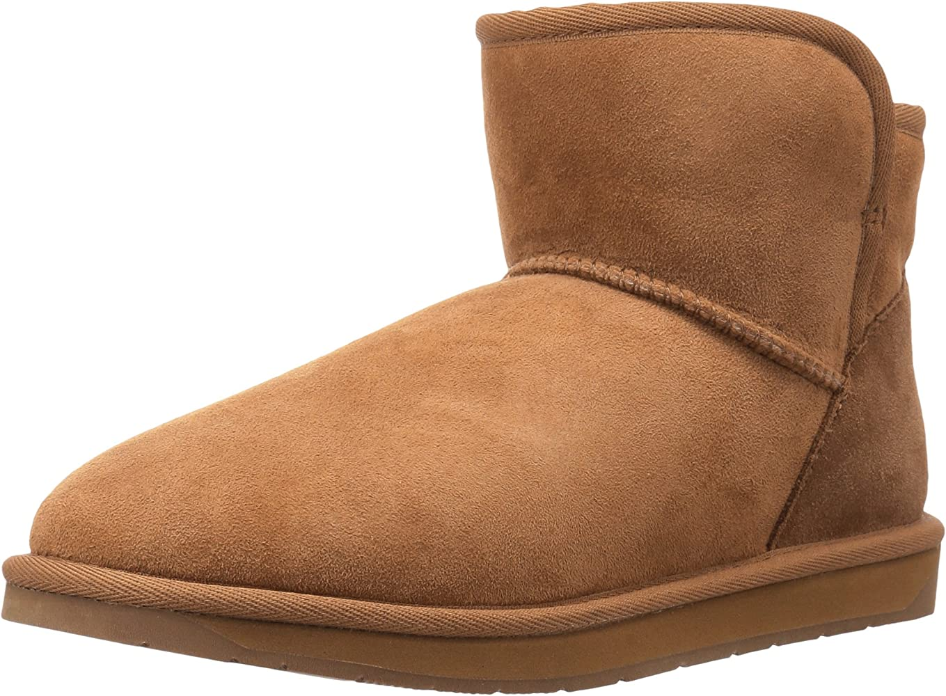 b2a82e97d559a Amazon Brand - 206 Collective Women's Bellevue Shearling Ankle Boot,  Chestnut, ...
