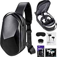 Oculus Quest 2 Case SARLAR Hard Chest Shoulder Backpack for Carrying Basic and Elite Version VR Gaming Headset and Touch…
