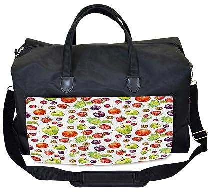Amazon.com: lunarable cocina bolsa de gimnasio, frutas del ...