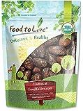 Organic Medjool Dates by Food to Live (Kosher) — 1 Pound